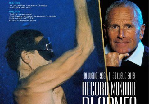 30 LUGLIO 1988/ 30 LUGLIO 2019 RECORD MONDIALE DI APNEA A-101 METRI